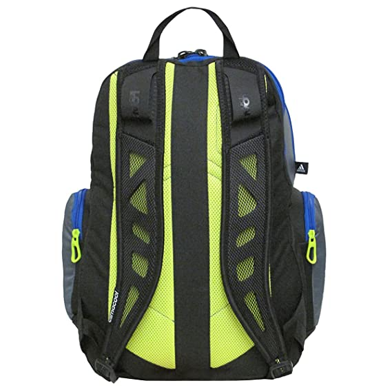Adidas Climacool Speed Backpack (Onyx Bold Blue Solar Yellow)  Amazon.ca   Sports   Outdoors ea994d081c