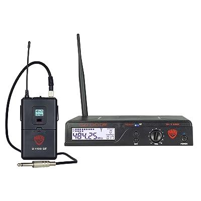 Nady U-1100 GT 100-Channel UHF Wireless Instrument/Guitar System