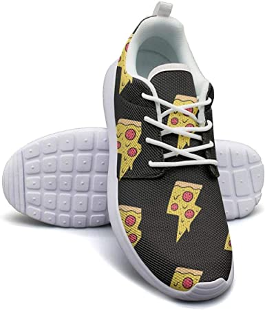 Womens Sneakerspug dog pizza Lightweight Running Shoes Walking Gym Shoes