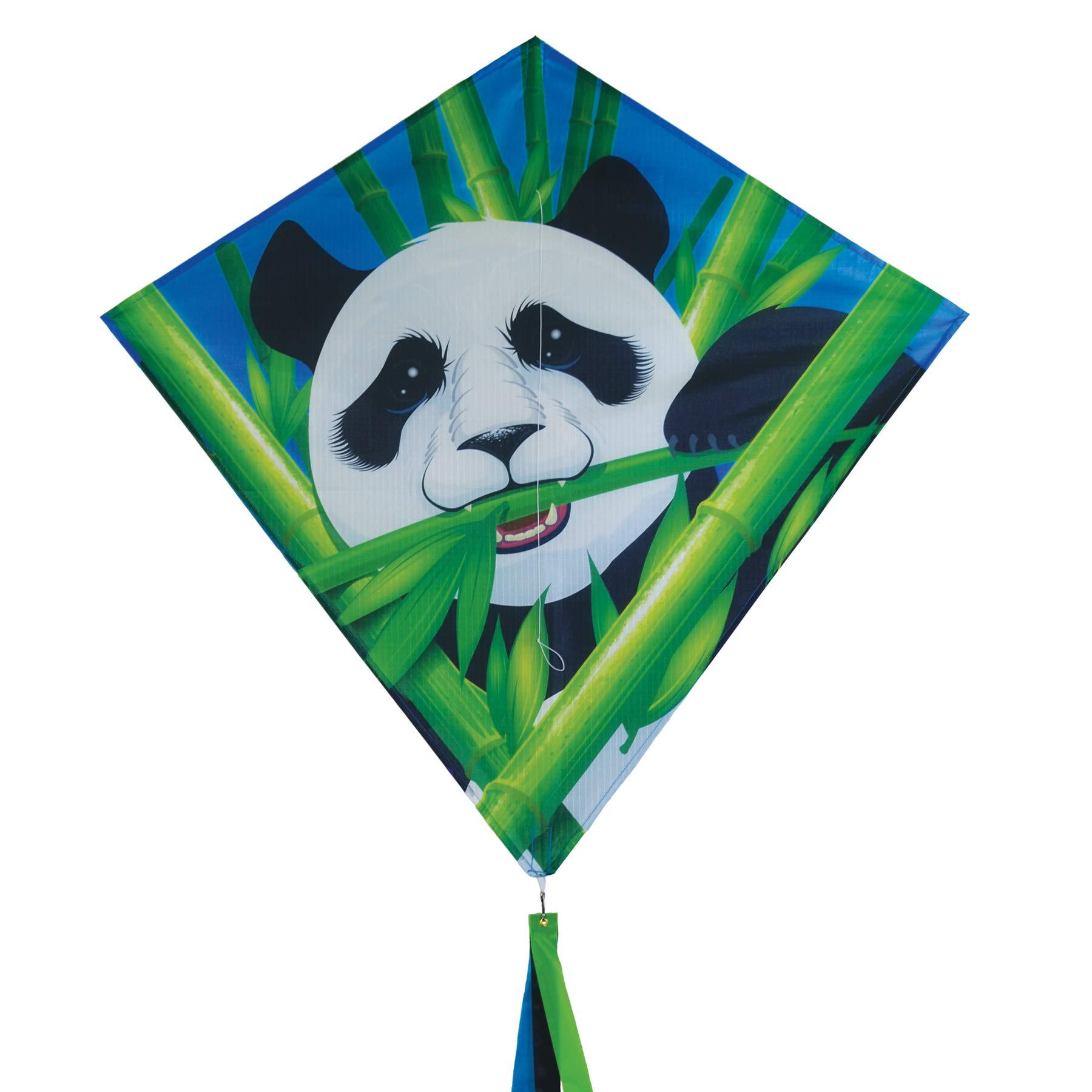 In the Breeze - Panda 30'' Diamond Kite - Fun, Easy Flying Kite by In the Breeze