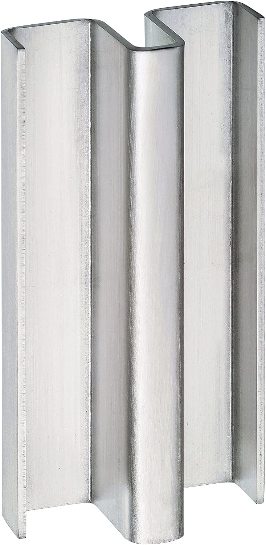 Manilla puerta corredera vidrio 10 mm. Tirador inoxidable TCBM-SD2 L=400 para pegar con silicona.