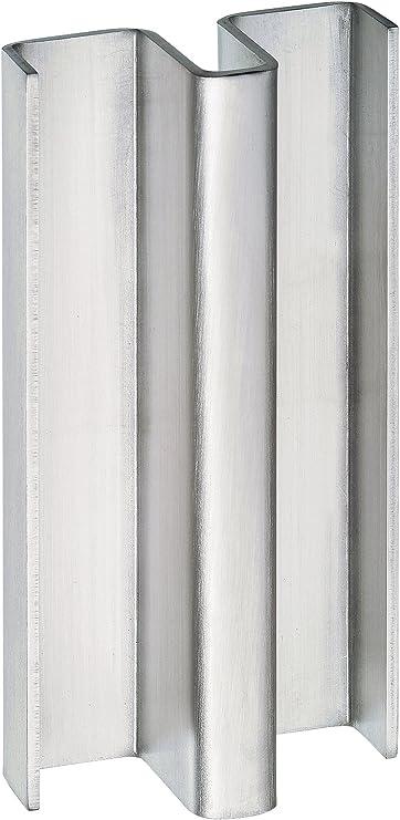 Manilla puerta corredera vidrio 10 mm. Tirador inoxidable TCBM-SD2 L=400 para pegar con silicona.: Amazon.es: Bricolaje y herramientas