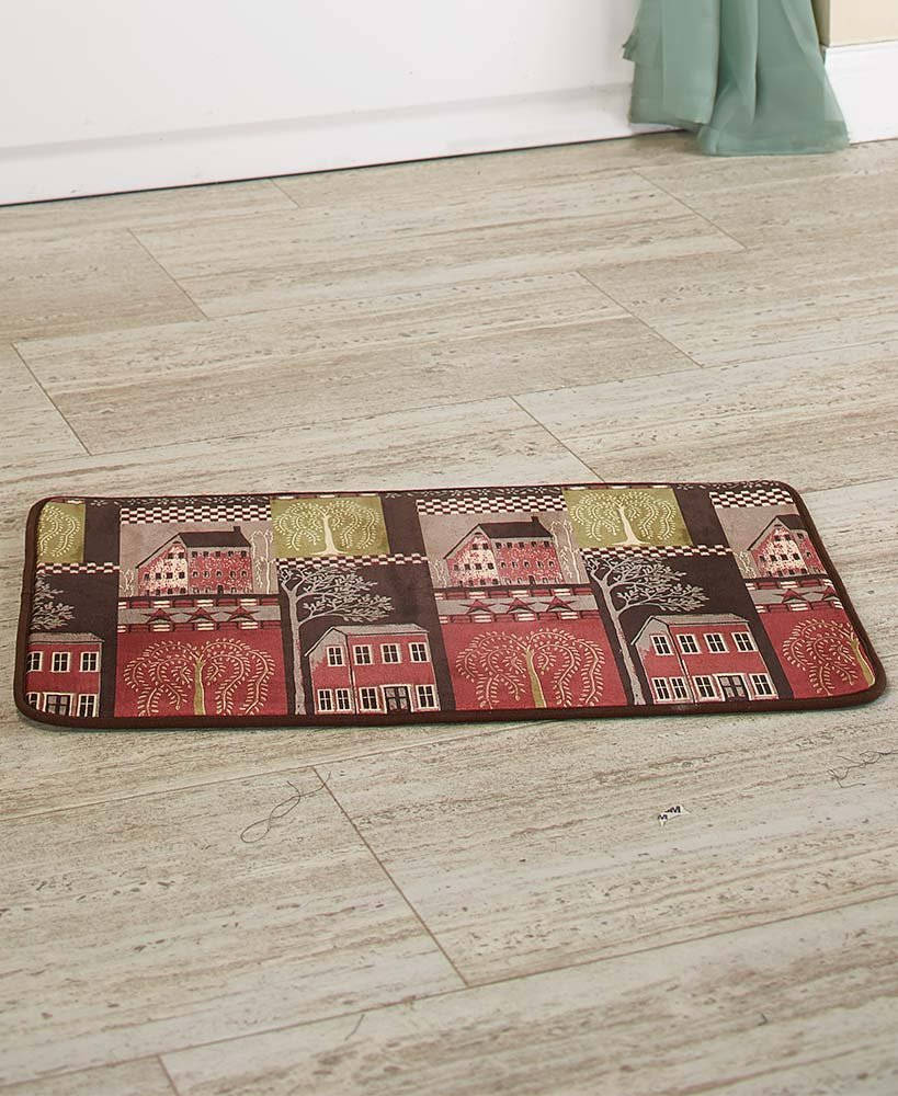Country Primitive Look Home Sweet Home Bath Collection (Rug) by Matts Global