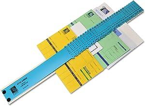 CLI30526 Sorter, A-Z/1-31/Jan-Dec/Sun-Sat/0-30,000 Index, Letter Size, Plastic, Blue