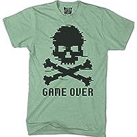 Game Over Skull Calavera Playera V Rott Wear