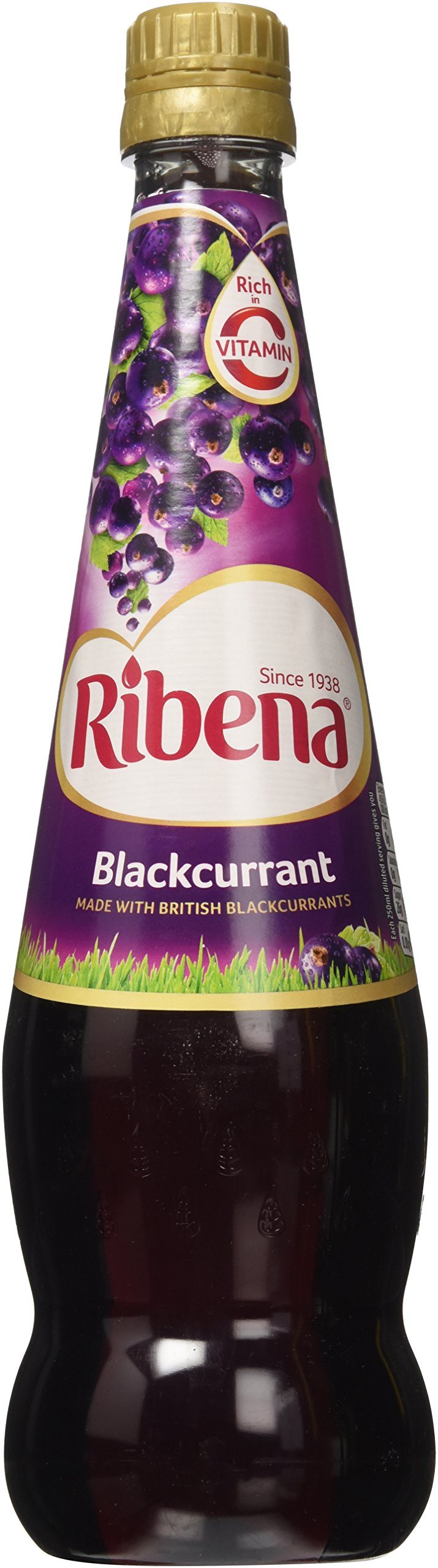 Ribena Blackcurrant 850ml - 3 Pack