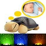 CONNECTWIDE Creative gift Turtle led Night Light Stars projector for children baby/kid Lamp toy
