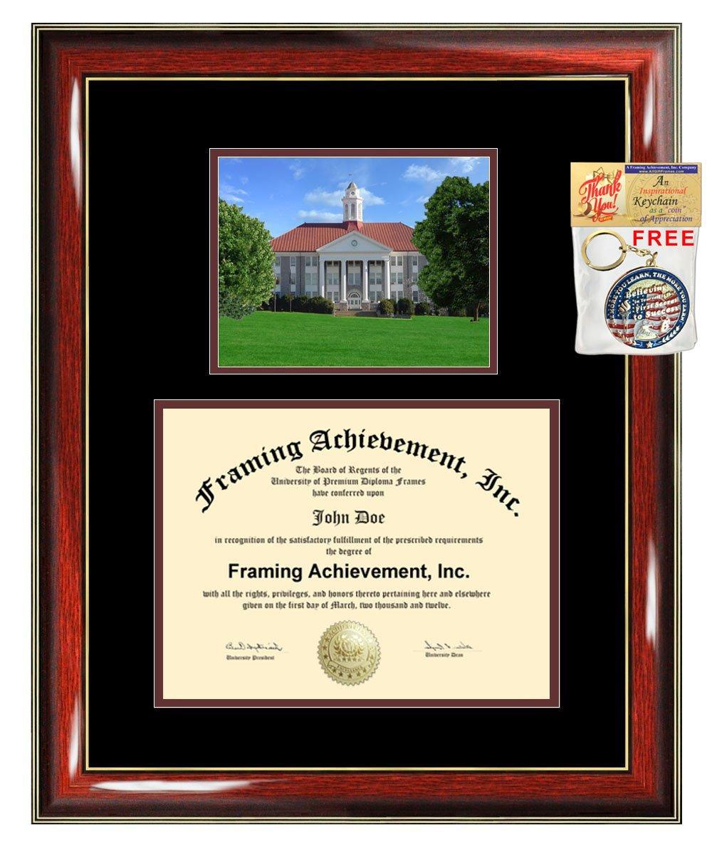 James Madison University Diploma Frame JMU Graduation Degree Frame Matted Campus College Certificate Plaque Framing Graduate Gift