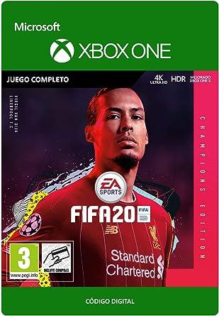 FIFA 20: Champions Edition (Post-Launch)   Xbox One - Código de descarga: Amazon.es: Videojuegos