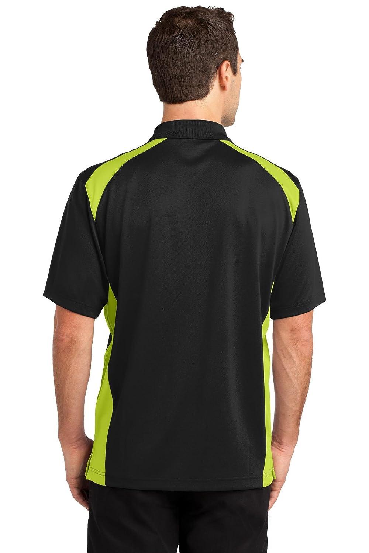 Cornerstone Select Snag-Proof Two Way Colorblock Pocket Polo CS416