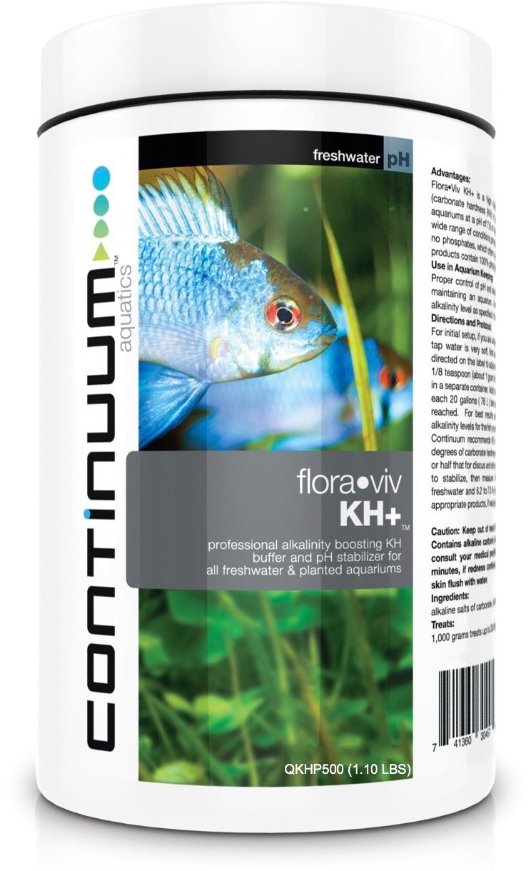 Freshwater fish tank alkalinity - Amazon Com Continuum Aquatics Flora Viv Kh Alkalinity Booster Ph Stabilizer For Freshwater Aquariums 500g Pet Supplies