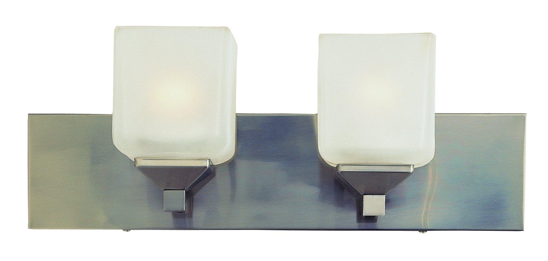 Trans Globe Lighting 2802 PW Indoor  Edwards 18'' Vanity Bar, Pewter