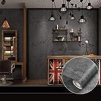 Zelfklevend behang, betonlook, behang, pvc, waterdicht, 10 m x 0,6 m, retrostijl, vintage, behang, betonlook, plakfolie…