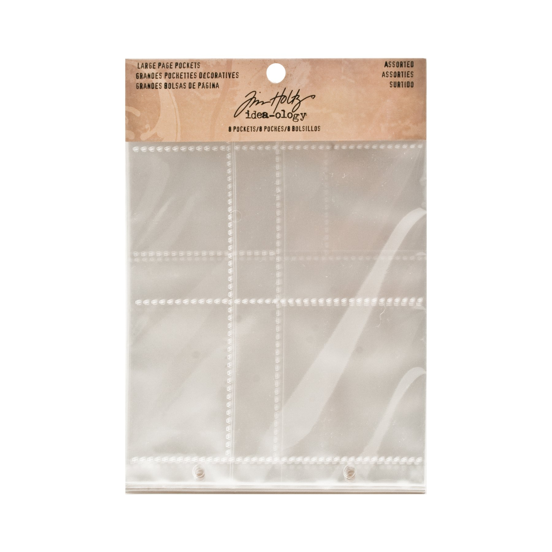 Large Page Pockets by Tim Holtz Idea-ology, Assorted Configurations, Set of 12, TH93140