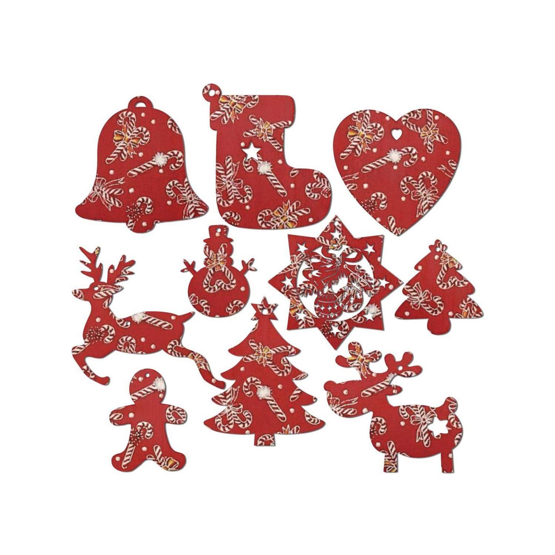 Amazon Red Funny Dabbing Santa Christmas Christmas Wooden