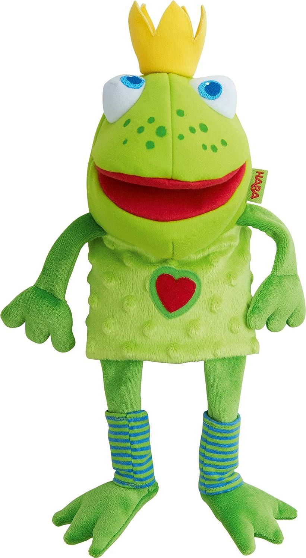 HABA Glove Puppet Frog King HABA USA 301263