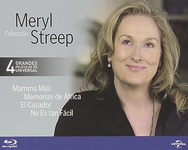 Pack: Meryl Streep [Blu-ray]: Amazon.es: Meryl Streep, Pierce ...