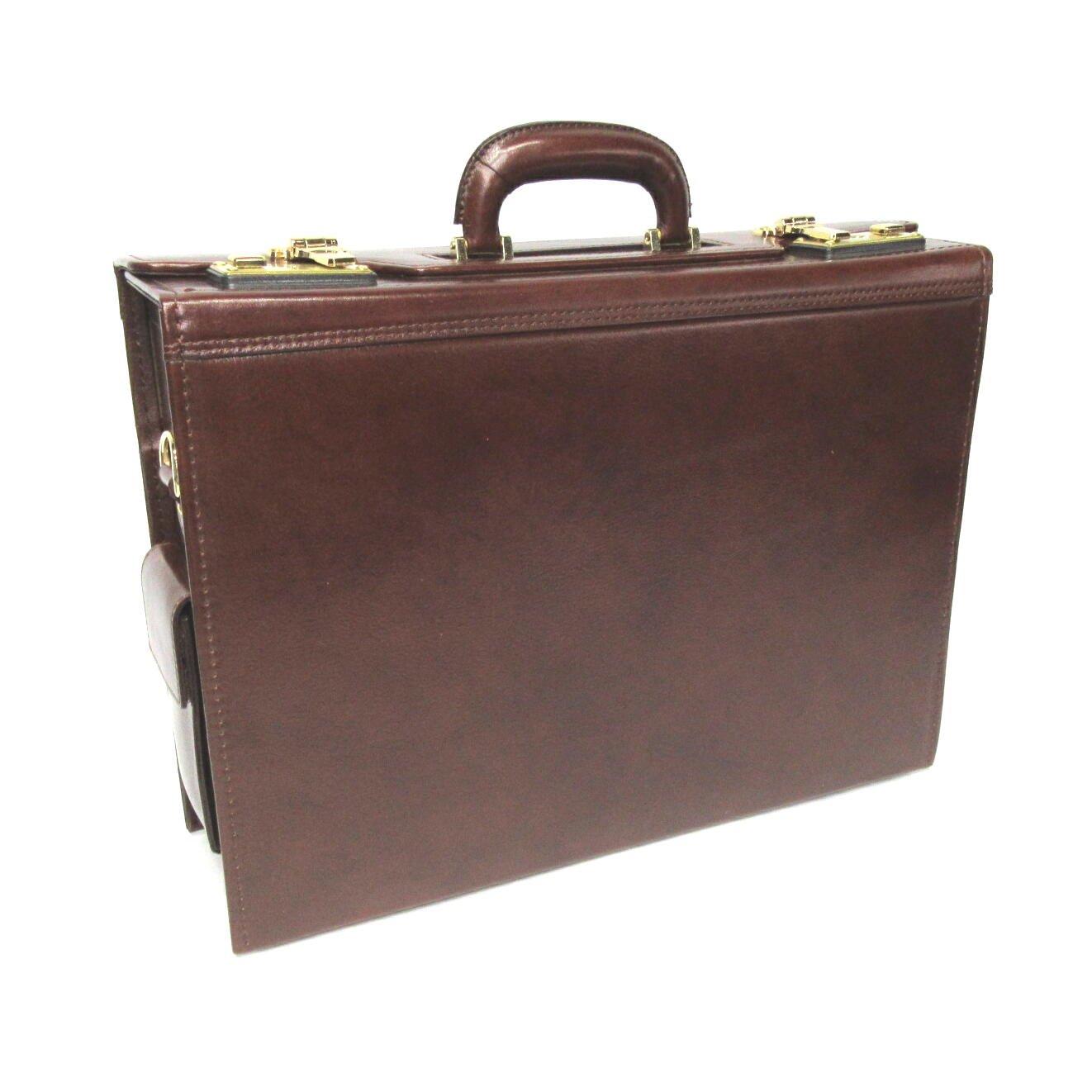シーザー[バロン2]本革製フライトケース15505 B009TI3272 ブラウン/チョコ ブラウン/チョコ