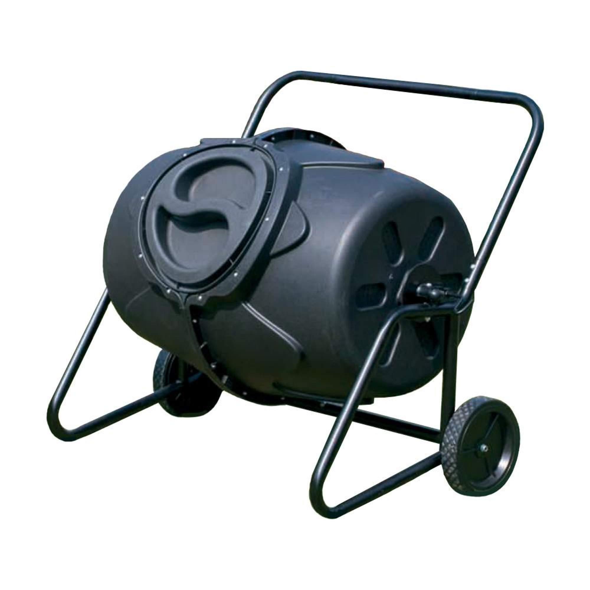 Riverstone Industries GEN-C50 Compost Tumbler, Black