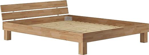 Erst Holz Ehebett Doppelbett 180x200 Kingsize Bett Futonbett