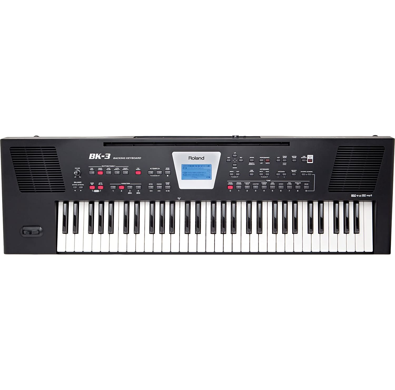 roland bk3bk key portable keyboard musical instruments