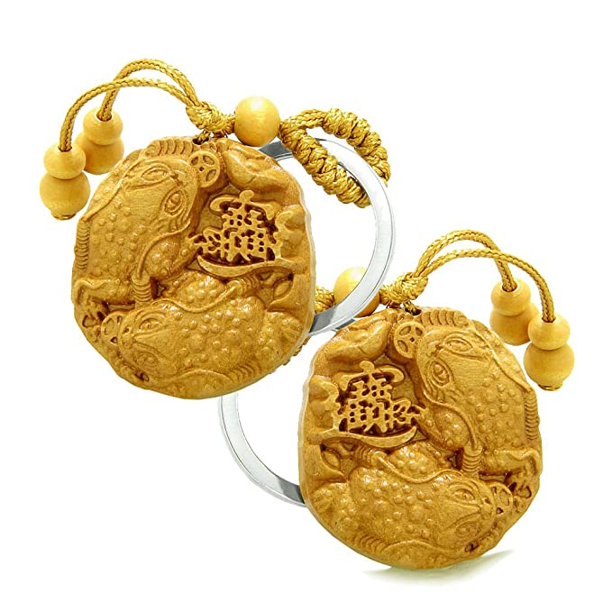 Amazon Amulet Double Lucky Todd Fortune Coins Good Luck Powers