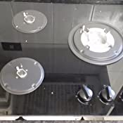 Teka cristal gas - Cocina hf-lux-60-3g-ai-al-tr-ci gas butano
