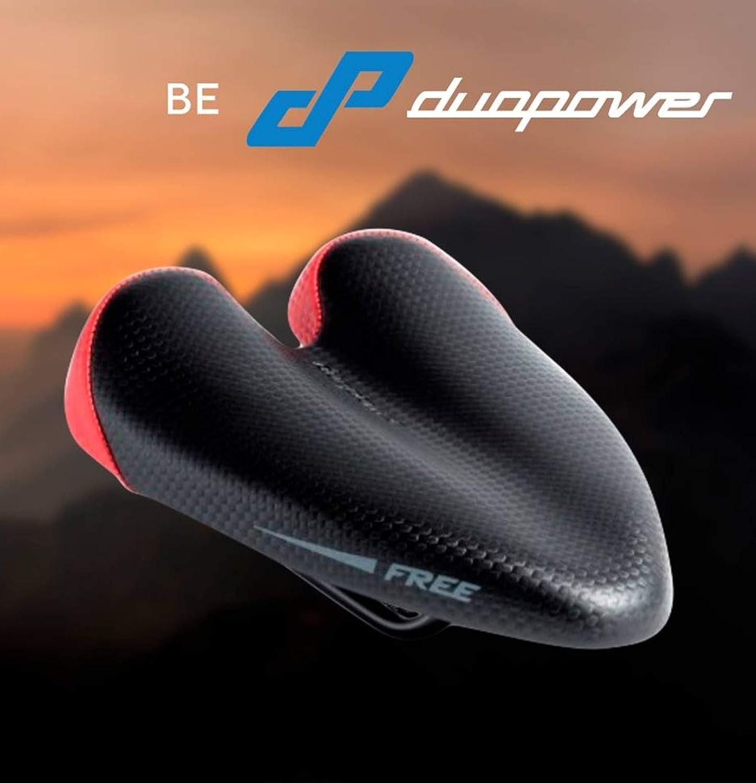 DUOPOWER Sillin Bicicleta MTB Antiprostatico - Sin Punta Carretera Modelo Free 2019 Apto Montaña Triatlon Sin Nariz Hombre Mujer Ciudad