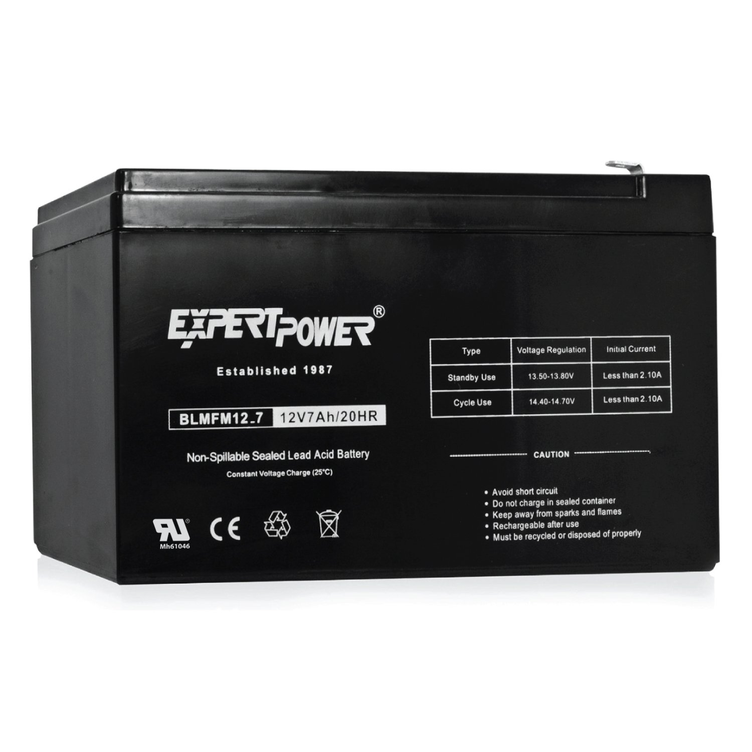 10 Pack Replaces APC Back-UPS ES 550 VA ExpertPower 12v 7ah Rechargeable Sealed Lead Acid Battery EXP1270|