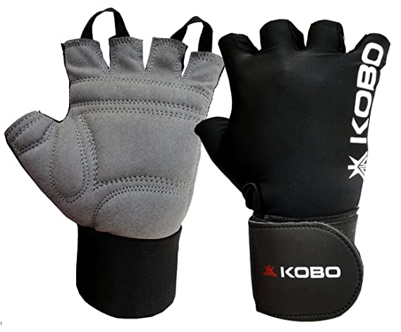 Kobo Lifting Gloves with Wrist Support