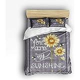 Amazon Com Diaidi 3d Sunflower Bedding Sets Butterfly