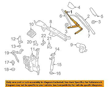 Mercedes-Benz 164 820 04 44, brazo del limpiaparabrisas: Amazon.es: Coche y moto