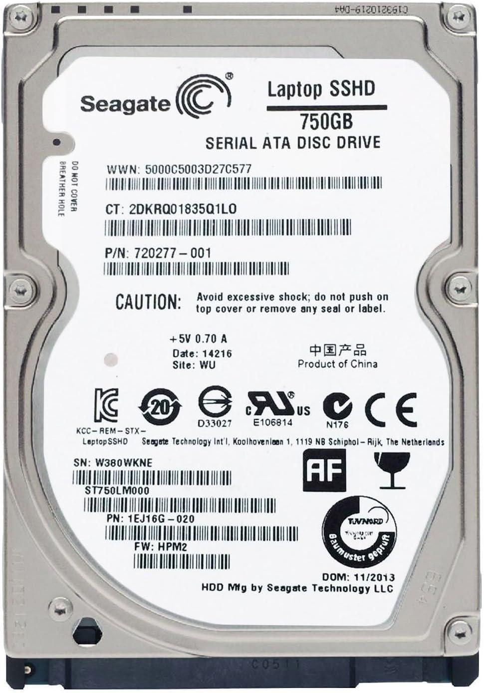 Seagate Solid State Hybrid Drive (750 GB (con 8 GB NAND)): Amazon ...