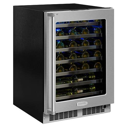 amazon com marvel professional 24 wine refrigerator right hinge rh amazon com Wine Rack Over Refrigerator marvel wine cooler manual 61wc
