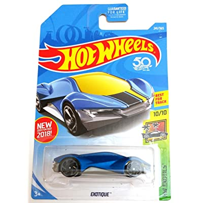 Hot Wheels Exotique 50TH Anniversary Edition HW Exotics 10/10 Of the series 241/365: Toys & Games