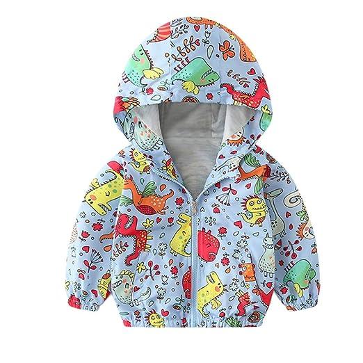 34dd180b6e57 Amazon.com  Coat For Baby Pulison Boys Girls Autumn Hoodie ...