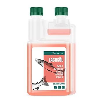 Aceite de salmón Omega-3 de Purmedica para perros, gatos y ...