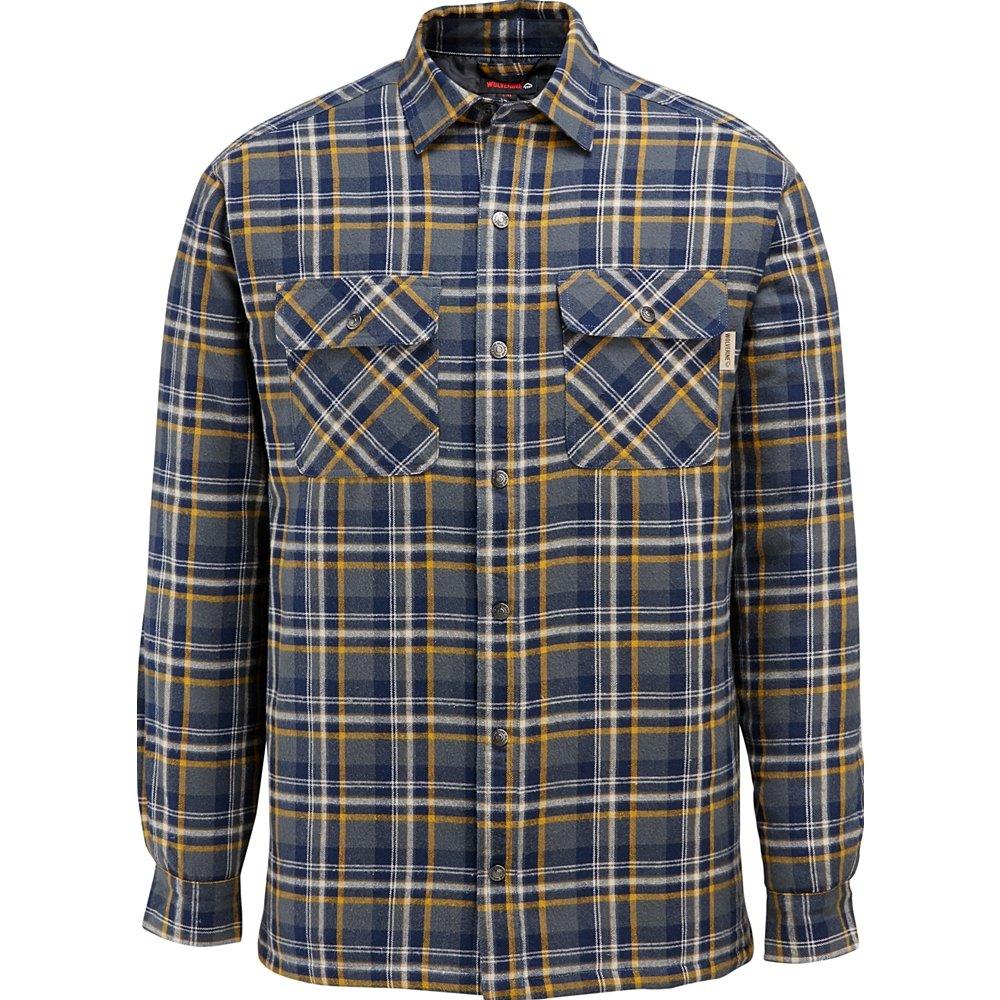 Wolverine Forrester シャツジャケット フランネル メンズ B071DP989Y Medium|カデットブルー カデットブルー Medium