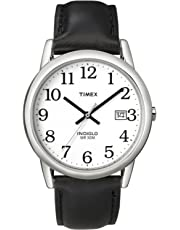 Timex Men's Easy Reader Date Leather Strap Watch