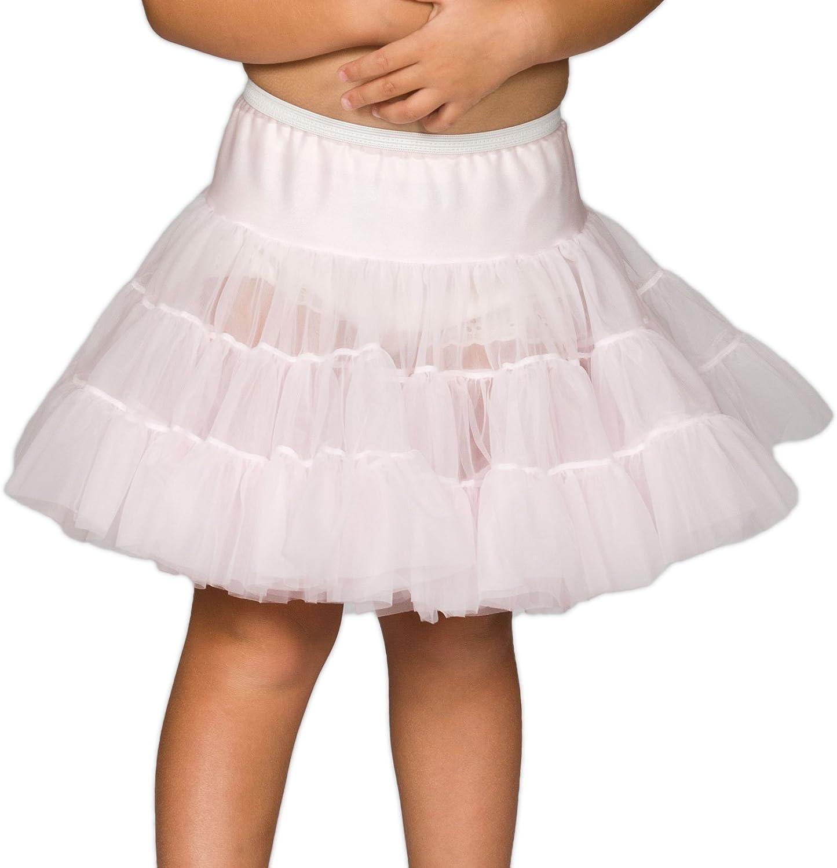 6X I.C 2T Collections Little Girls Bouffant Half Slip Petticoat