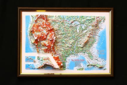 Amazon.com : United States Map 3D Raised Relief Framed USA ... on cartoon united states, digital map of united states, central plains map united states, framed antique maps, mounted maps of united states, geographic maps rivers united states, paintings of united states, framed usa map, printable map of united states, inset map of the united states, framed historical texas maps, world of united states, framed us map with pins, drawings of united states, framed vintage maps, usa wall maps united states, rand mcnally map of the united states, large map of united states, map of the mountain ranges in united states, framed maps wall,