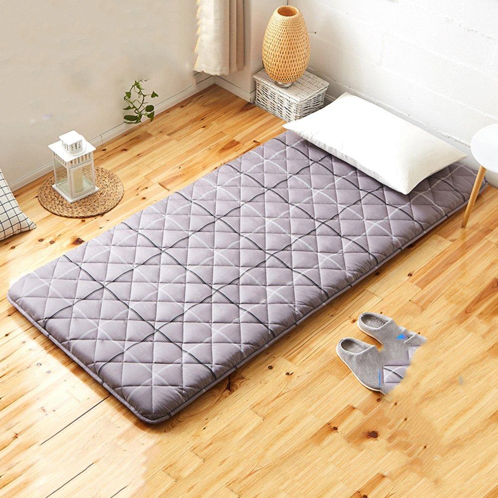 厚く 畳 床マット ソフト装着マットレス パッド,低,綿パッド マットレス畳床 マットレス パッドを冷却 コットン トップ 抗菌, ダニ防塵-C 120*200cm B07L2S3K4S C 120x200cm(47x79inch)