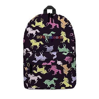 df235c6a510d FRINGOO® School Backpack Girl Boy Student Kids Rucksack Travel Hand Luggage  Unicorn Printed Daypack Funny
