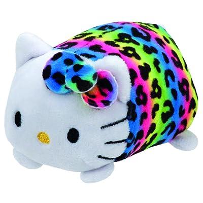 Ty Beanie Boos - Teeny Stackable Plush - HELLO KITTY (Rainbow Leopard): Toys & Games