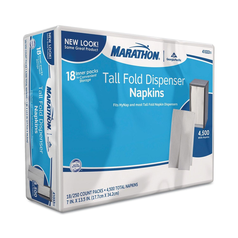 Marathon - Tall Fold Dispenser Napkins - 4,500 Napkins
