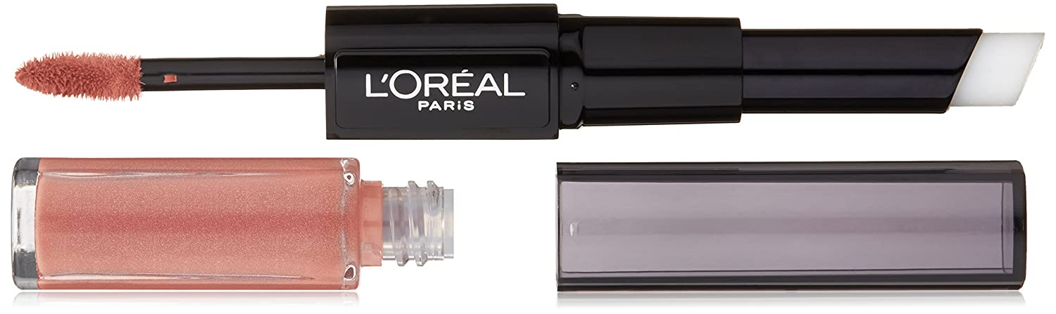 L'Oréal Paris Infallible Pro Last 2 Step Lipstick, Always Almond, 1 fl. Oz.