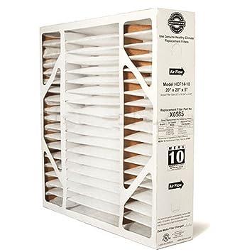 lennox healthy climate 20x25x5 x6673 merv 11 box filter. lennox genuine oem replacement media filter x0585 (20x20x5) healthy climate 20x25x5 x6673 merv 11 box