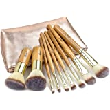 Matto Makeup Brushes 9-Piece Makeup Brush Set Foundation Brush with Travel Makeup Bag