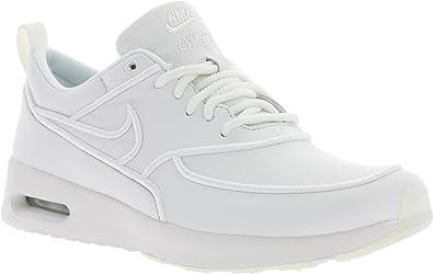 chaussure nike en cuir blanc fille