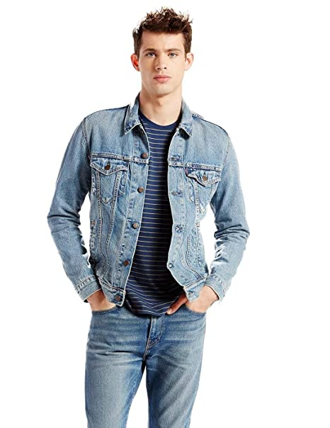reputable site 56ea8 5239e Levi's The Trucker Jacket, Giacca in Jeans Uomo